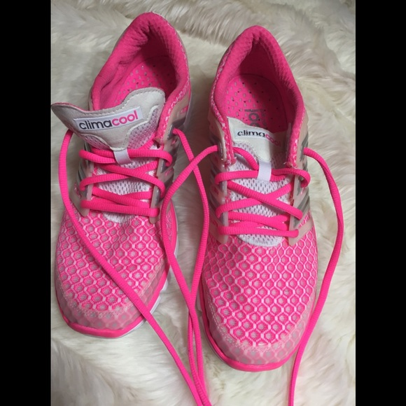 official photos c8eb0 6d829 adidas Shoes - Adidas climacool pink running sneaker size 9